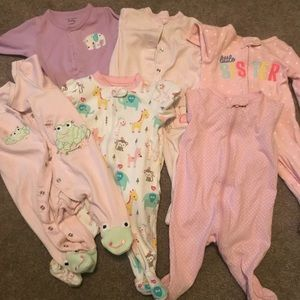 One Pieces - 0-3 month sleepers